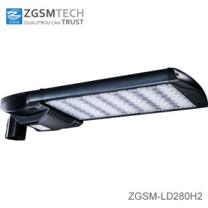 280W Motion Sensor LED Streetlight with Photocell pictures & photos