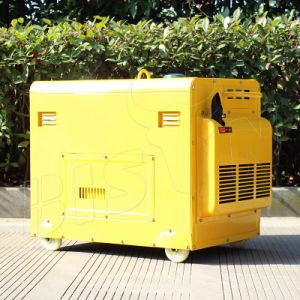 Bison 5kw Silent Portable Three Phase Heavy Duty Diesel Generator pictures & photos
