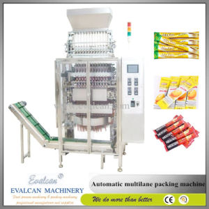 Automatic Multi Lanes Stick Sachets Pouch Coffee Powder Filling and Sealing Packing Machine pictures & photos
