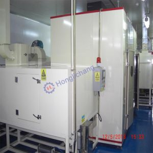 Fixed-Gun Automatic UV Paint Spraying Line for Mobile Phones pictures & photos