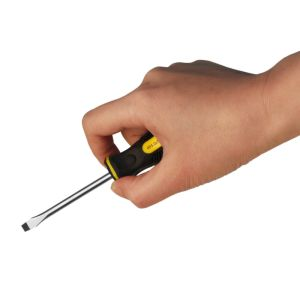Hand Tools Cr-V Steel 5*75mm Straight/Flat/Slotted Head Screwdriver pictures & photos