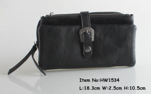 2018 Fashion Ladies PU Wallet (HW1534) pictures & photos