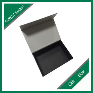 Black Paper Gift Box with Logo Printing Wholesale pictures & photos