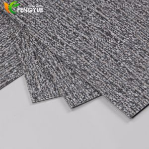 China Supplier Vinyl Recycled Material Carpet Design PVC Floor Tile pictures & photos