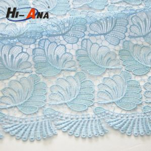 Top Quality Control Wholesale Promotional Polyester Lace Fabric pictures & photos