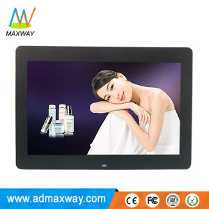 Narrow Bezel HD Video MP3 Digital Photo Frame 14 Inch with Human Sensor (MW-1401DPF) pictures & photos