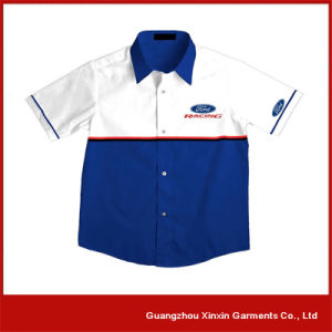 Custom Embroidery 100% Cotton Pit Crew F1 Racing Shirts for Men (S51) pictures & photos