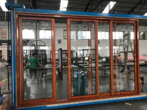 Customized Aluminum Sliding Door for Shopping Mall, Office, School and Commerical Building pictures & photos