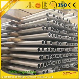 Aluminum Factory Anodized Matt Aluminium Extrusion Round Tube pictures & photos