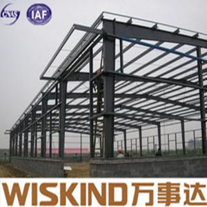 Prefabricated Light Steel Shed/Metal Shed Structure for Workshop pictures & photos