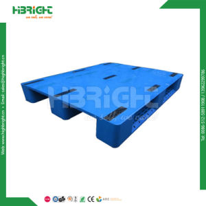 Double Side Plastic Pallets for Warehouse Storage pictures & photos