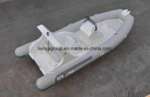 Liya 20feet Fiberglass Hull Rigid Inflatable Boat Hypalon Inflatable Rib Boat pictures & photos