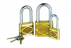 Cast Brass Padlock with Long Shackle, Fruniture Lock pictures & photos