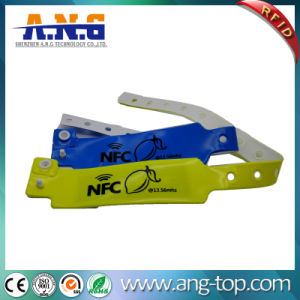 Theme Park Used Soft ID PVC Wristband pictures & photos