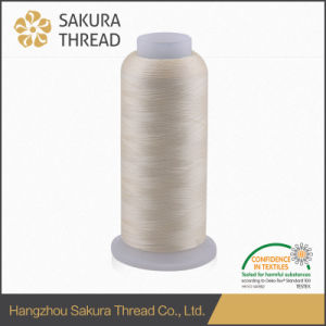 High Quality Eco-Friendly 100% Polyester Embroidery Thread 120d/2 4000yard pictures & photos