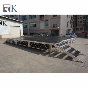 Easy Assembling Portable Aluminium Stage Deck for Outdoor Events pictures & photos