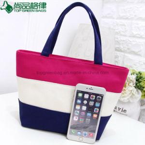 100% Organic Girls Designs Handled Bags Woman Canvas Bag Handbags pictures & photos