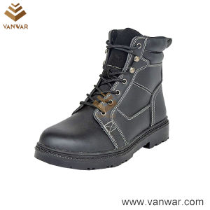 Durable Cow Leather Military Working Boots (WWB065) pictures & photos