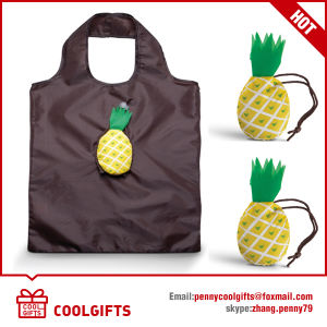 190t Polyester Drawstring Foldable Bag for Promotion Gift pictures & photos