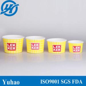 8oz Popular Paper Cups for Yogurt/Ice Cream/Milkshakes/Icy Juice (YHC-076) pictures & photos