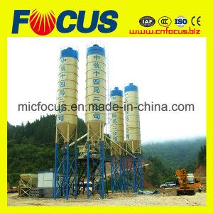 75m3/H PLC Control Climb Bucket Concrete Mixing Plant Hzs75 pictures & photos