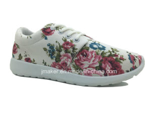 Fashion Women Casual Shoe with Lace (J2276-L)