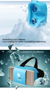 Vr0 Virtual Reality 3D Glasses for Smart Phone Black pictures & photos