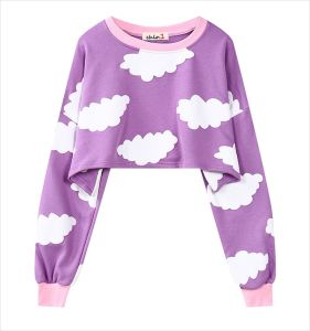 2016 Hot Sexy Cropped Tops for Women Crop Jumper (ELTSTJ-741) pictures & photos