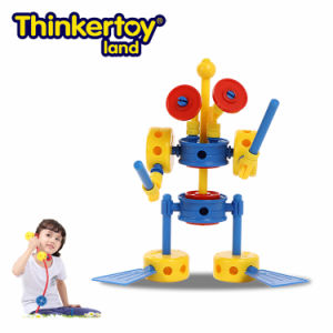 Thinkertoy Land Blocks Educational Toy Robot Series a. I Robots 4 (R6102)