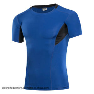 Wholesale Dry Fit T Shirt, Men′s Running Sports T-Shirt (A002) pictures & photos