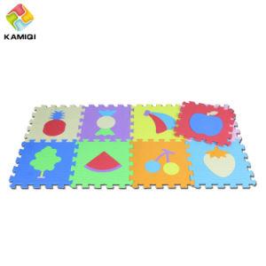 Waterproof Kamiqi EVA Non-Toxic Foam Floor Jigsaw Puzzle Fruits Mats pictures & photos