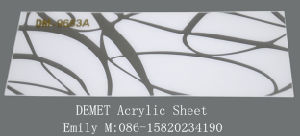 Abstract Demet Acrylic Sheet (DM-9653) pictures & photos