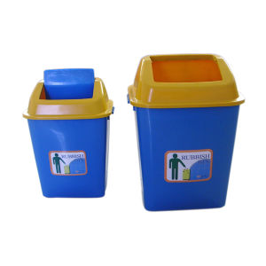 High Quality Eco-Friendly Plastic Large Outdoor Dustbin pictures & photos