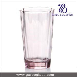 10oz Pink Color Drinking Glass Tumbler pictures & photos