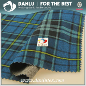 Printed Imitated Twill Woolen Fabric pictures & photos
