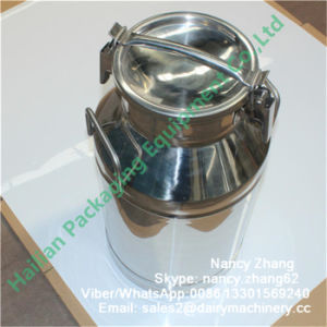 Fresh Milk Using Stainless Steel Transport Can with Sealing Ring pictures & photos