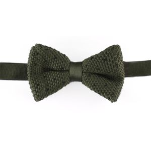 New Design Men′s Knitted Bowtie (YWZJ 29) pictures & photos