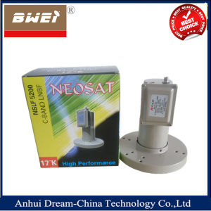 High Quality High Gain C Band LNBF for Pakistan with Dual Polarity Single Output pictures & photos
