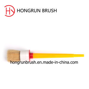Round Paint Brush with Plastic Handle (HYR070) pictures & photos