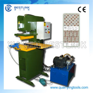 China 40 Dies Hydraulic Granite Paving Stone Stamping Machine pictures & photos