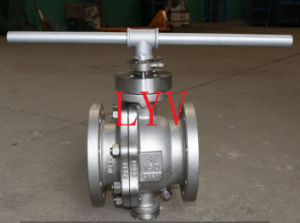 Flanged 2 PCS Carbon Steel Ball Valve pictures & photos