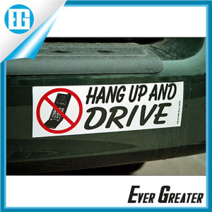 Customized Car Bumper Sticker OEM pictures & photos