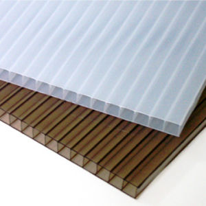 8mm High Light Transmission Hollow Polycarbonate Sheet