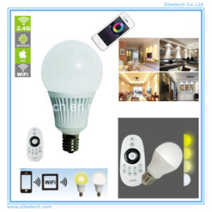 White WiFi Dimmable LED Light Bulbs