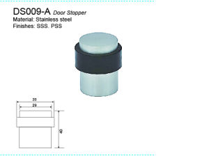 Stainless Steel Door Stopper Rubber Stopperds007 pictures & photos