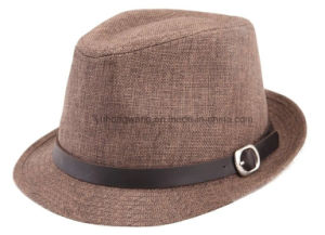Customized Fashion Men Straw Hat, Summer Sports Baseball Cap