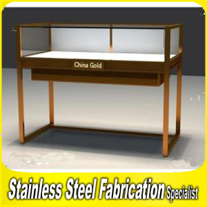 Custom-Made Stainless Steel Modern Jewelry Display Rack for Shops pictures & photos