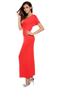 Semi Formal Fashion Red Dress pictures & photos