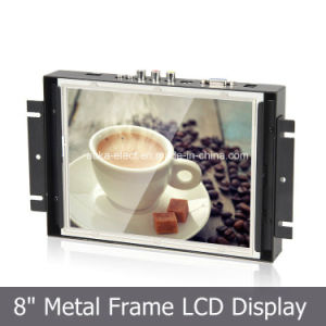 "8"" Open Frame LCD Screen for Kiosk, Gaming, Industrial Use pictures & photos"