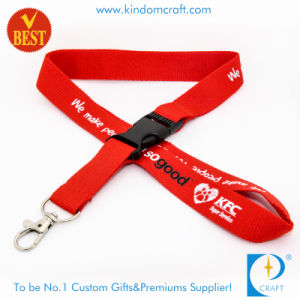 Custom Nylon Printed Lanyard Strap with Clasp as Souvenir pictures & photos